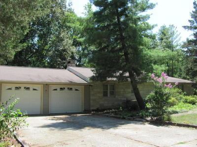 Murphysboro Single Family Home For Sale: 1356 Wood Road