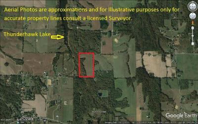 Johnson County Residential Lots & Land For Sale: 001 N Thunderhawk Road