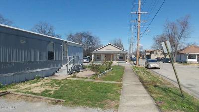 Harrisburg IL Single Family Home For Sale: $15,500