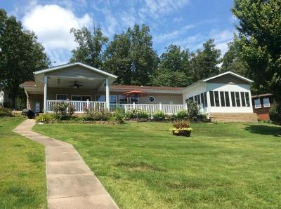 Goreville Single Family Home Active Contingent: 55 Eagle Claw Point