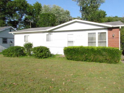 Carbondale Single Family Home For Sale: 405 S Wall