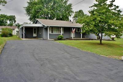 Metropolis Single Family Home For Sale: 320 Oak Drive