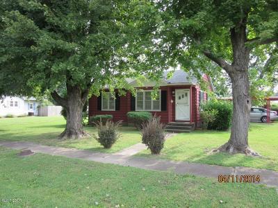 Herrin Single Family Home For Sale: 1100 N 16th