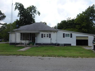 Eldorado IL Single Family Home For Sale: $33,500