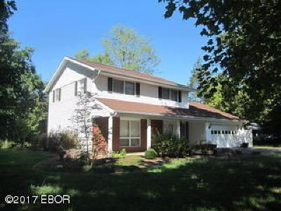 Murphysboro Single Family Home Active Contingent: 421 Pump House Road