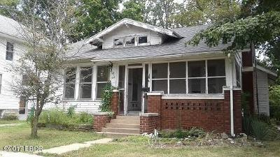 Murphysboro Single Family Home For Sale: 308 N 15th