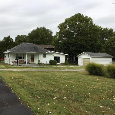 West Frankfort Single Family Home For Sale: 1405 E Popular