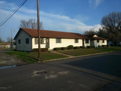 West Frankfort Multi Family Home For Sale: 501 E Elm Street #A-E
