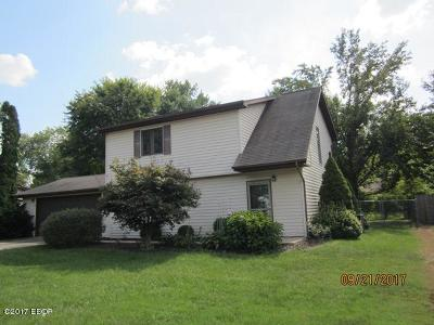 Carbondale Single Family Home For Sale: 618 S Surrey Lane
