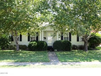 Johnston City Single Family Home Active Contingent: 703 Monroe Avenue