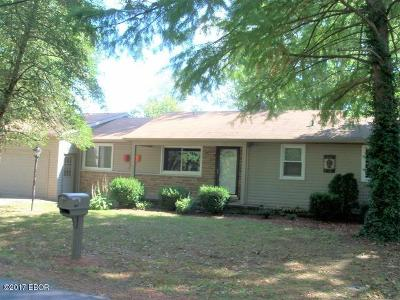 Murphysboro Single Family Home Active Contingent: 5714 Country Club