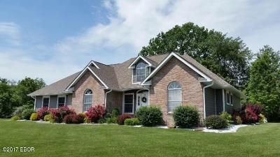 Murphysboro Single Family Home For Sale: 350 Majestic Oak Drive
