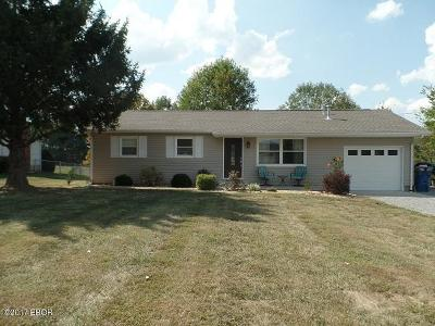 Marion Single Family Home Active Contingent: 7621 Moake School Road