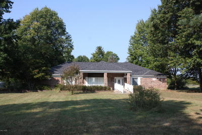 Marion Single Family Home For Sale: 1100 N Pentecost