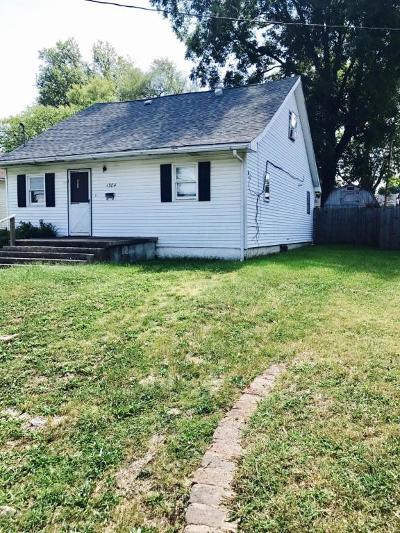 West Frankfort Single Family Home For Sale: 1304 E Oak Street
