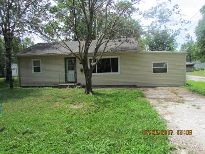 Murphysboro Single Family Home For Sale: 917 S 21st Street