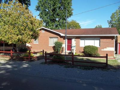 West Frankfort Single Family Home For Sale: 710 S Van Buren