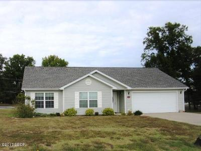 Carterville Single Family Home Active Contingent: 1500 Hawkeye Court