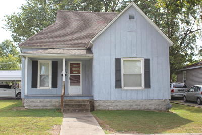 Herrin IL Single Family Home For Sale: $55,900