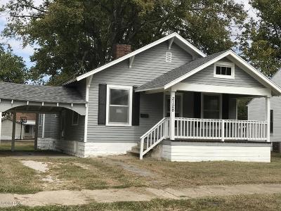Murphysboro Single Family Home Active Contingent: 2128 Clarke Street