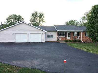 Marion Single Family Home For Sale: 7207 Koester Road