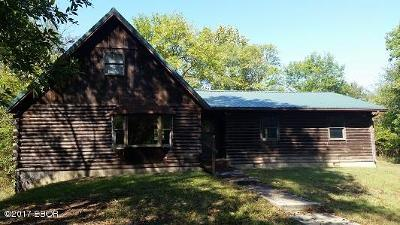 Murphysboro Single Family Home For Sale: 1533 Towncreek Road
