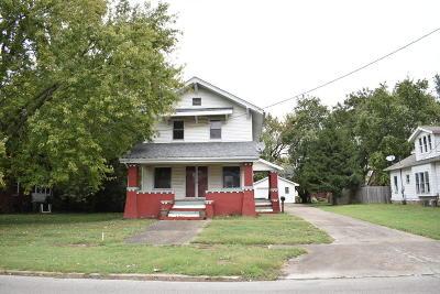 West Frankfort Single Family Home For Sale: 903 E Poplar