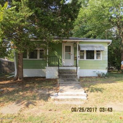 West Frankfort Single Family Home For Sale: 309 W 4th St