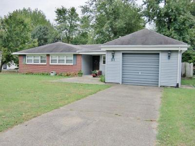 Massac County Single Family Home For Sale: 31 Marberry Drive