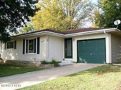 Murphysboro Single Family Home For Sale: 32 Westwood Lane