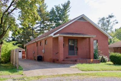 West Frankfort Single Family Home For Sale: 706 E 4th Street