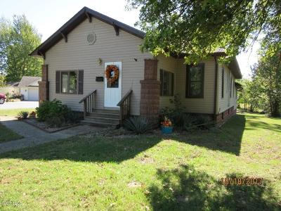 Carterville Single Family Home For Sale: 309 California