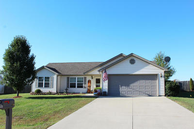 Carterville Single Family Home Active Contingent: 1505 Hawkeye Court