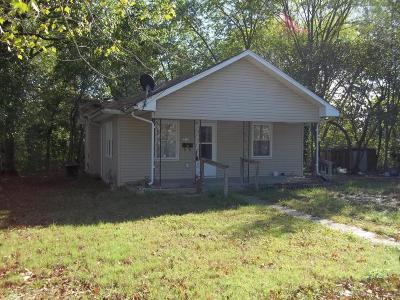 Benton Single Family Home For Sale: 206 N Stotlar