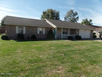Marion IL Single Family Home For Sale: $139,900