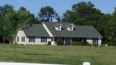 Carterville Single Family Home Active Contingent: 1105 Tennyson Drive