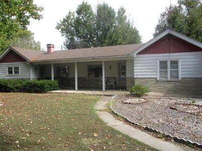 Benton Single Family Home For Sale: 1628 N Main Street