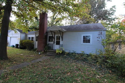 Carbondale IL Single Family Home For Sale: $72,500