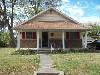 Benton Single Family Home For Sale: 1107 N McLeansboro
