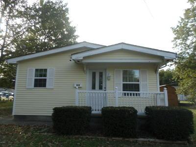 Benton Single Family Home For Sale: 203 N 9th Street