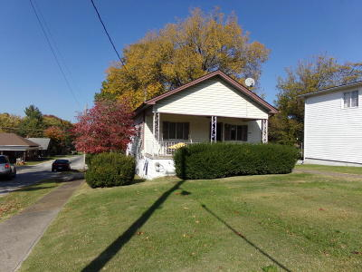 West Frankfort Single Family Home For Sale: 1601 E Main