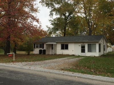 Marion Single Family Home For Sale: 14432 Cochran