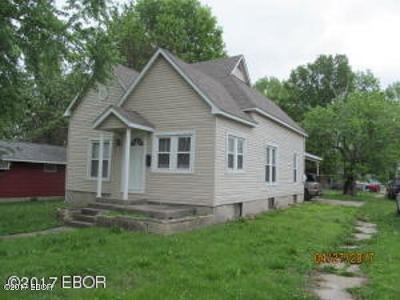 Herrin Single Family Home For Sale: 405 E Ash