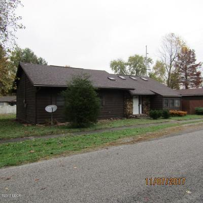 West Frankfort Single Family Home For Sale: 502 N Horn