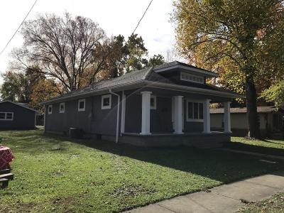 West Frankfort Single Family Home For Sale: 1106 E Lindell Street