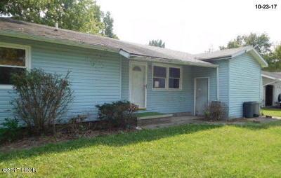 Herrin Single Family Home For Sale: 508 E McKinley