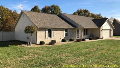 Marion Single Family Home For Sale: 11186 Zachary Drive