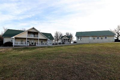 Single Family Home For Sale: 3596 Massac Creek Road