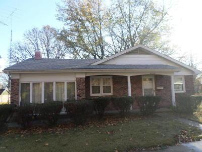Benton Single Family Home For Sale: 602 McKinley