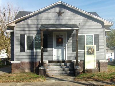 Murphysboro IL Single Family Home For Sale: $68,000